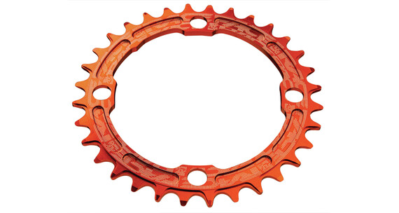 Race Face Single Narrow Wide Chainring 104 BCD orange
